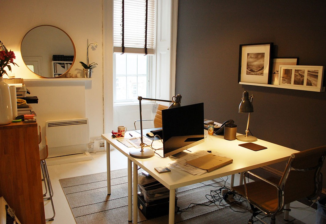 HOME OFFICE INTERIOR OR SMALL OFFICE INTERIOR